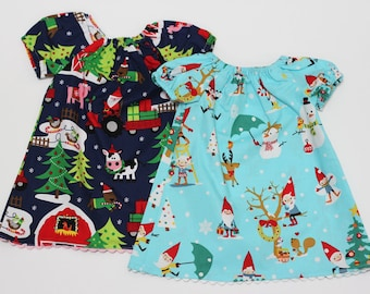 Sale - Baby girl Christmas Dress - Baby dress - Baby Clothes - New born