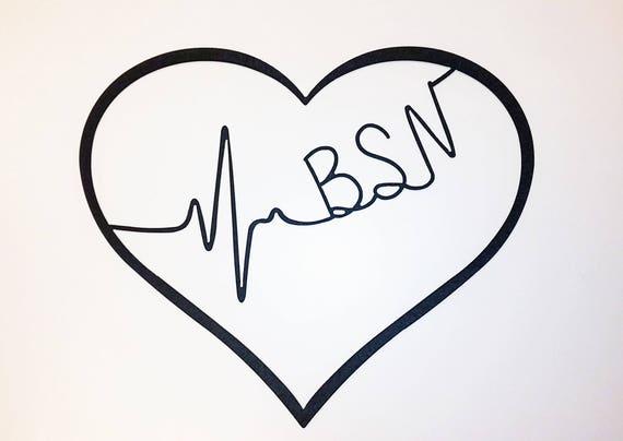 Metal Heart Wall Art / Gift for Nurse / Nurse\'s Week / Cna | Etsy