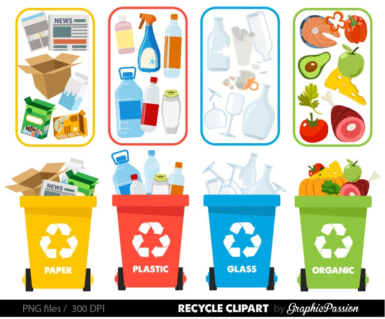 Recycle clipart Recycle graphics Recycle Bin Recycling ...