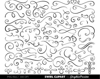 Calligraphy swirls clipart flourish ornaments retro vector wedding invitation swirls clipart flourish clip art calligraphy graphics swirl clipart clip art vector flourish digital flourish swirl stopboris Image collections