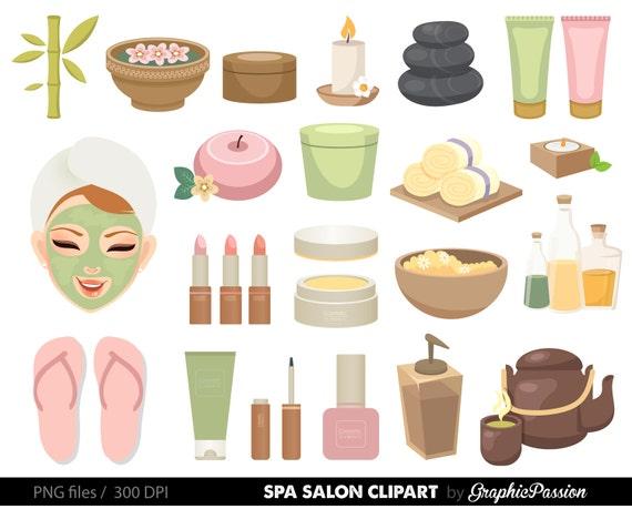 spa girls clipart manicure clipart cute spa girls clipart etsy rh etsy com spa clipart free spa clip art images