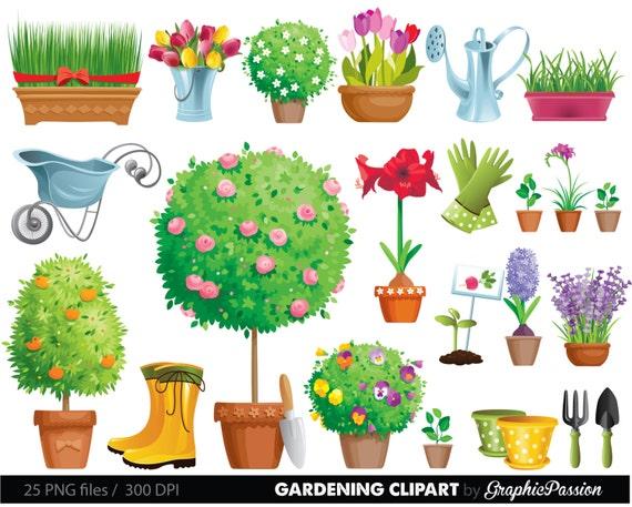 Garden Clipart Gardening Tool And