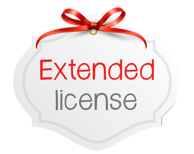 10 Extended License for any listing on GraphicPassion