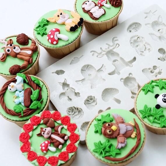 Gaufrage Pour Cupcake et Gâteau-timbres pâte de sucre bébé garçon