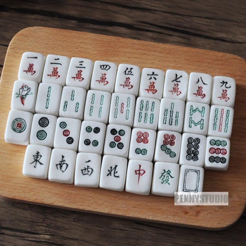 Mahjong Silicone Mold, Resin Mold, Chocolate Mold, Craft Mold DIY, Clay  Mold, Cupcake Decorating, Soap Making