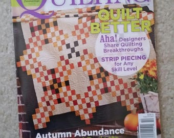 American Patchwork and Quilting Magazine October 2015