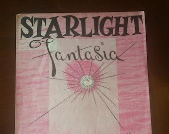 """Vintage sheet music, """"Starlight Fantasia,"""" 1957"""