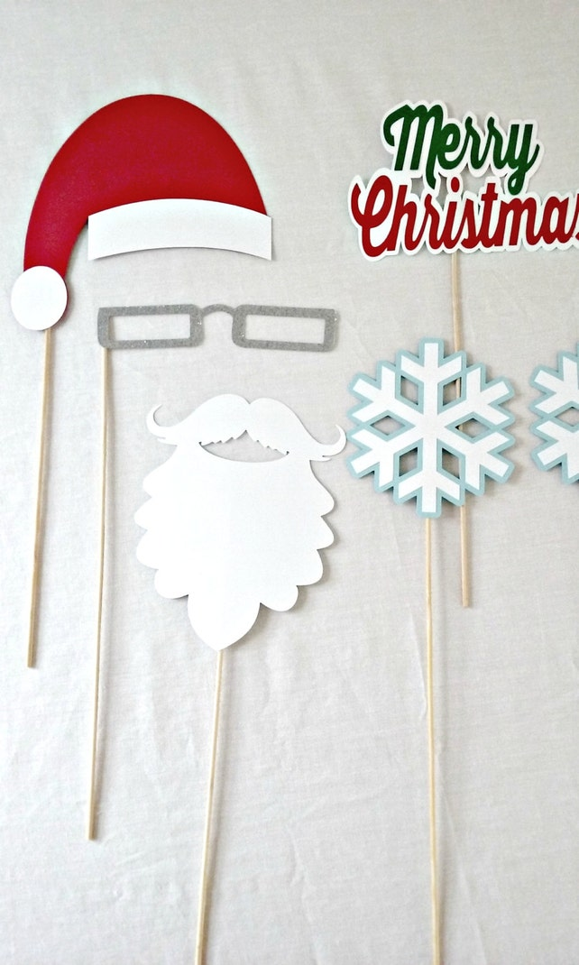 Christmas Photo Props Ugly Sweater Party Decorations Christmas
