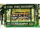 Vins Fins Desserts A La Mere De Famille Paris Photograph Signed 55 250