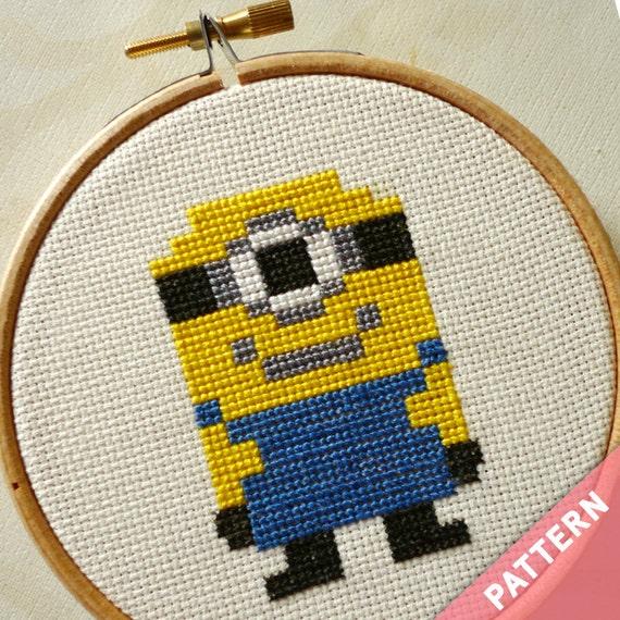 Minion - Cross Stitch Pattern