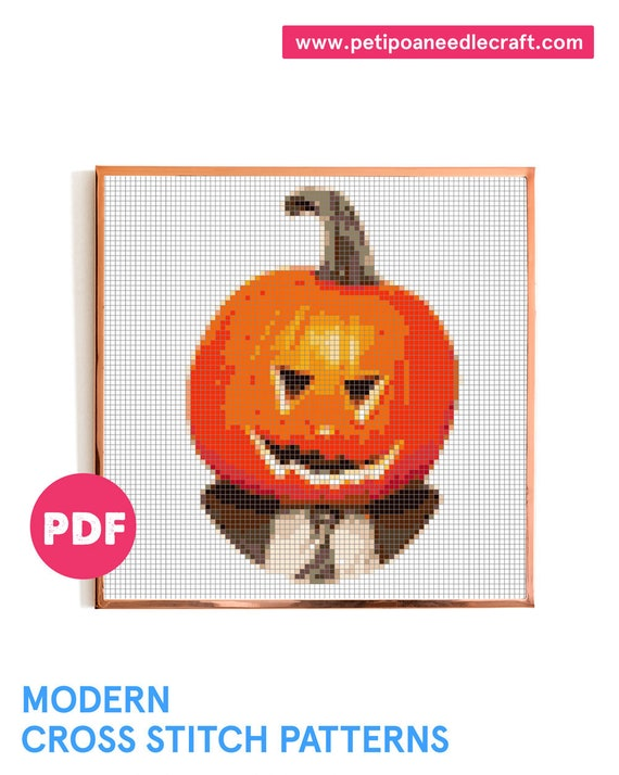 The Office TV show • Halloween • Funny Cross Stitch Pattern • Digital download • The Office Cross stitch • Dwight • Modern embroidery