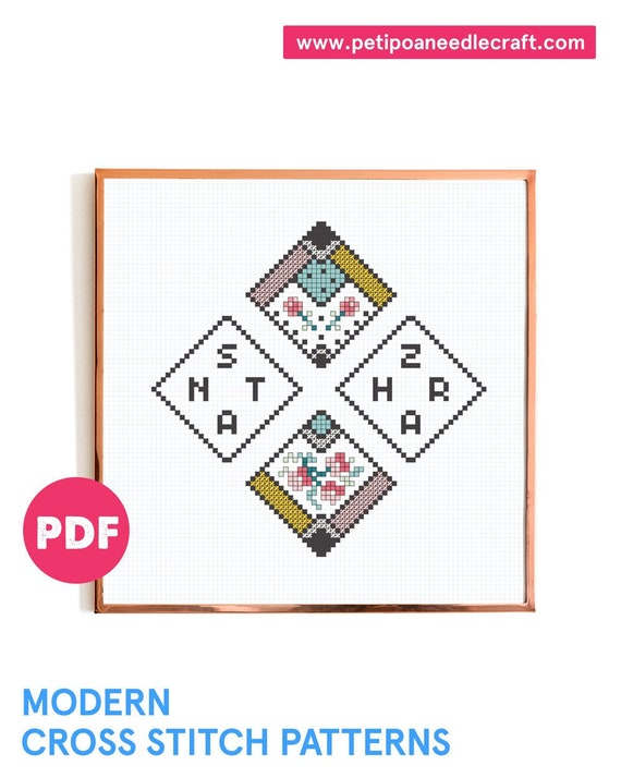 Zahara - Santa - Fan Art Cross stitch Pattern