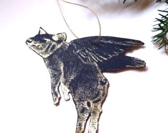 Cincinnati Ornament Flying Pig Ornament When Pigs Fly