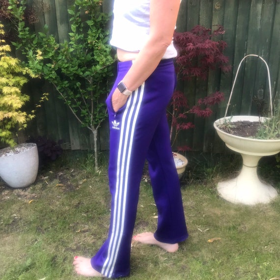 Vintage Adidas tracksuit bottoms size 12
