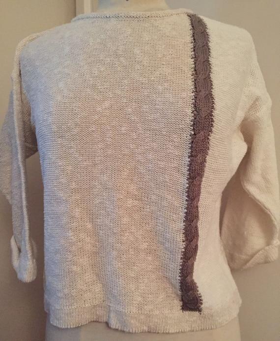 Lovely 1980's vintage jumper size 10-12
