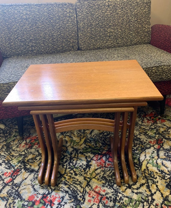 G plan fresco mid century nest of tables Vintage/ retro 1970's - buyer to collect or arrange courier