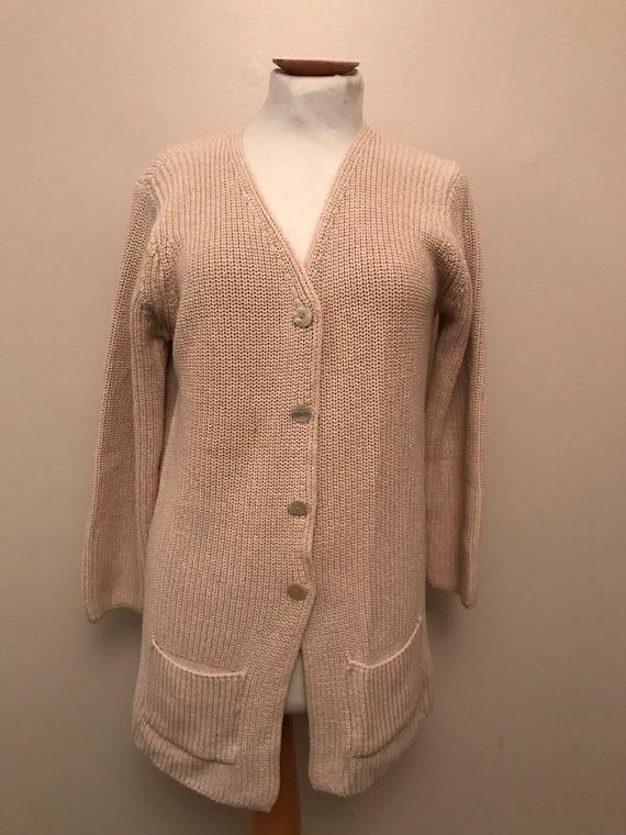 Vintage 1980's St.Michael's cardigan size 8-14
