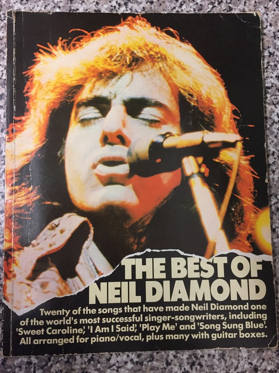 The best of Neil Diamond sheet music book