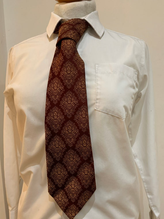 Mens 1960's kipper tie by John Collier