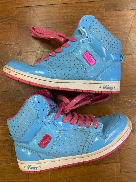 Vintage Hi top trainers by Pastry size  Uk 5.5/eur 38.5