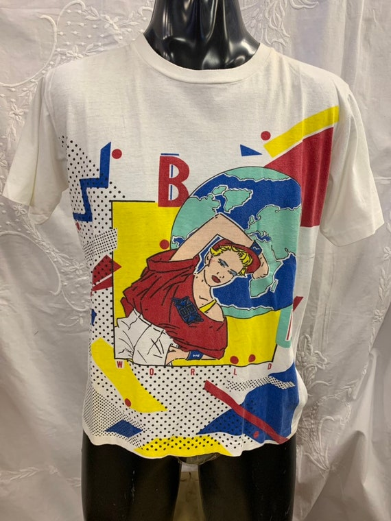Vintage 1980's t shirt by New Man size small to medium