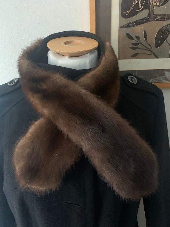 1930's handmade Vintage fur scarf....