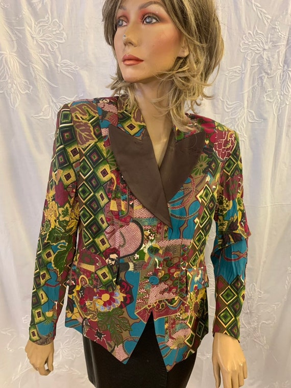 Vintage 'Bazar'de Christian le laccroix jacket size 42