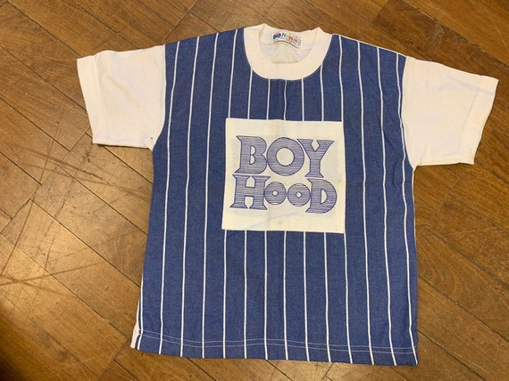Rare Maggini 'Boy hood'Childrens Vintage t shirt age 8