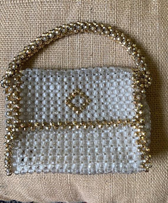 Beautiful Italian beaded handbag