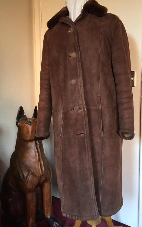 Lovely vintage sheepskin size 10-14