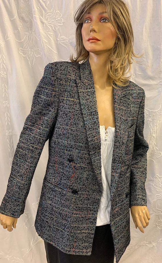 1980's multi coloured jacket size medium 10-12