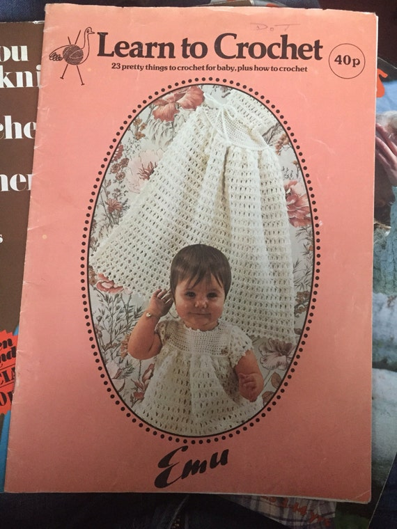 Vintage Learn to Crochet magazine