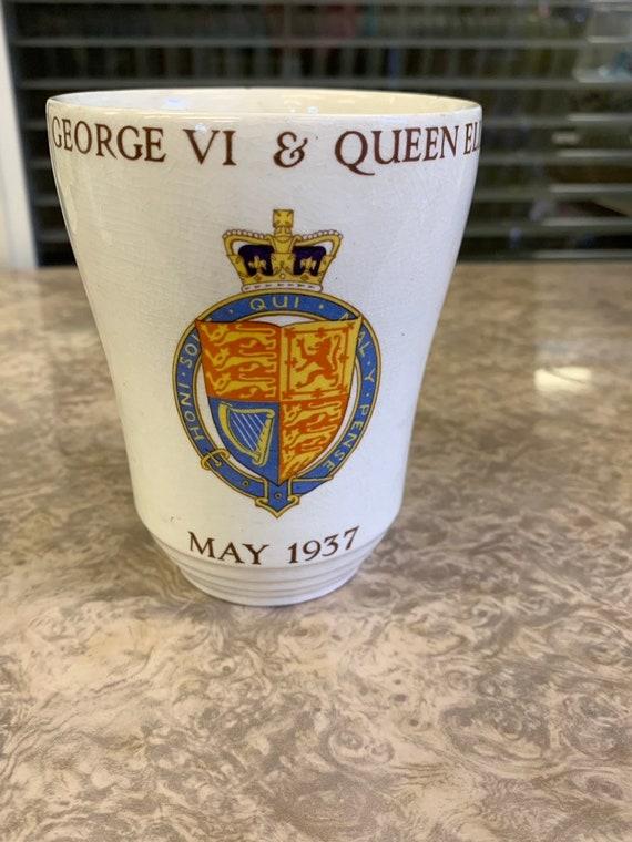 George V1 commemoration mug 1937