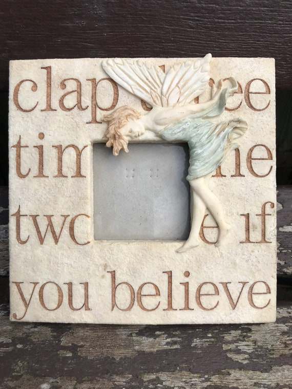 Beautiful fairy picture frame