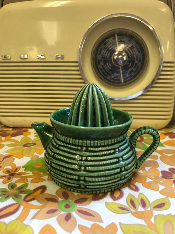 Rare Retro ceramic cactus lemon squeezer jug 1960's Goebel West German 'Well306'