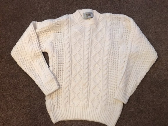 1980's Vintage cricket/bowling jumper size medium by Taylor and Butler