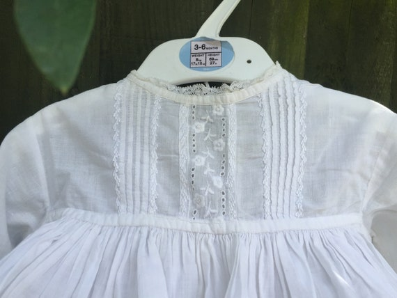 Beautiful Victorian lace and cotton girls dress