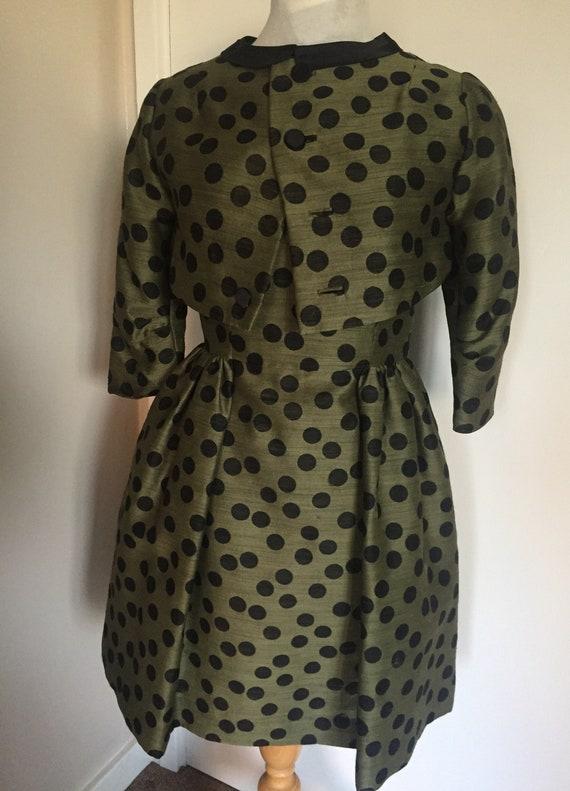 Stunning handmade vintage style dress and jacket