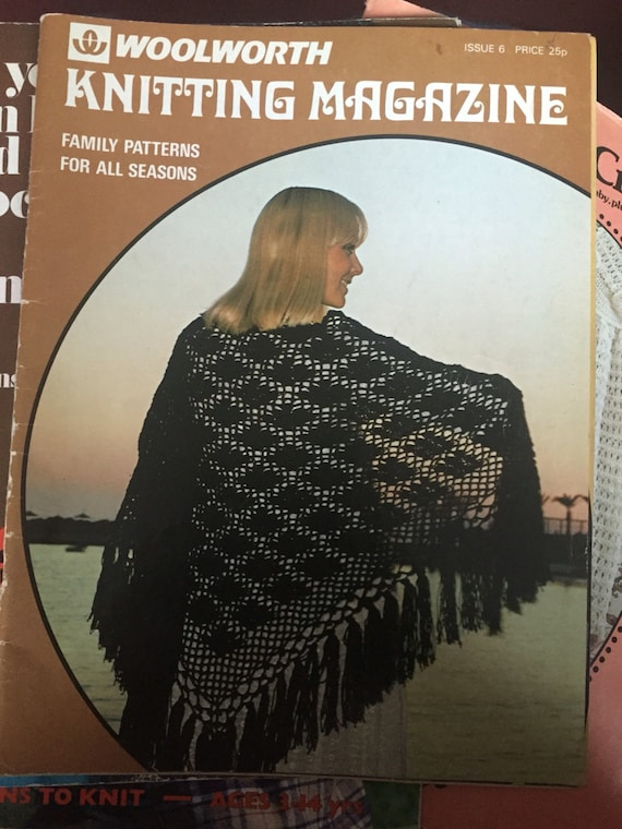 Woolworth knitting magazine issue 6