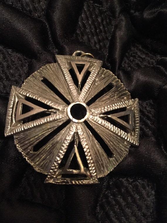 Vintage retro hippy 1970's pendant