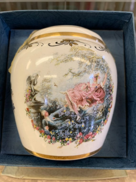 Ceramic Potpourri holder made by Lord Nelson Pottery Staffordshire