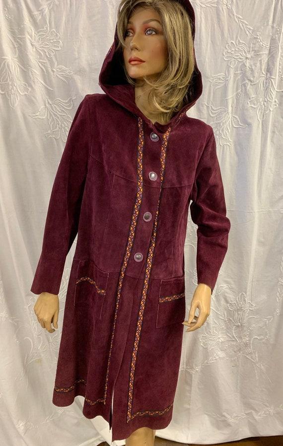 1970's vintage suede coat