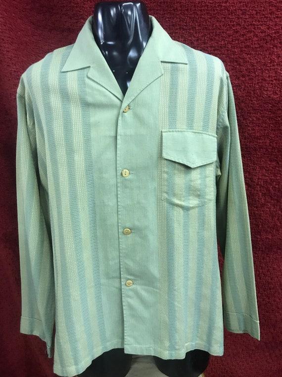 Vintage 1950's aertex mens shirt size XL made by viyella house