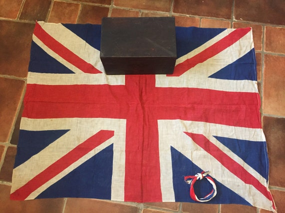 World war 2 Union Jack flag