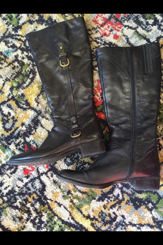 Ladies vintage style riding boots size 6