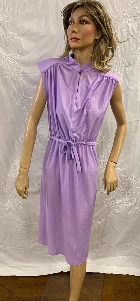 1980's lilac dress size 10-12