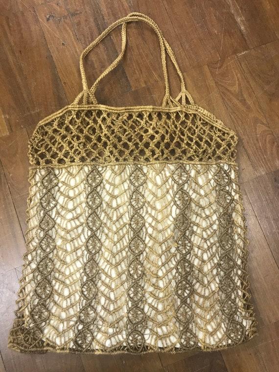 1990's vintage string bag