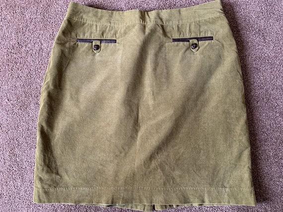 Vintage Laura Ashley courdroy skirt size uk 14