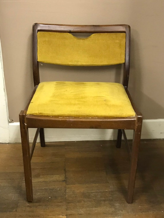 3 x 1960's G plan dining chairs