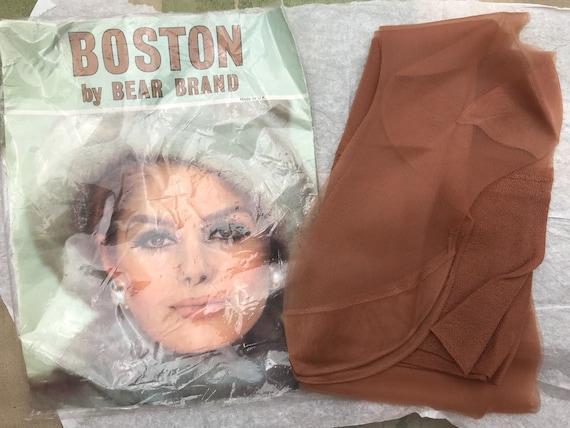 Vintage seamfree stocking 'Boston' by Bear Brand